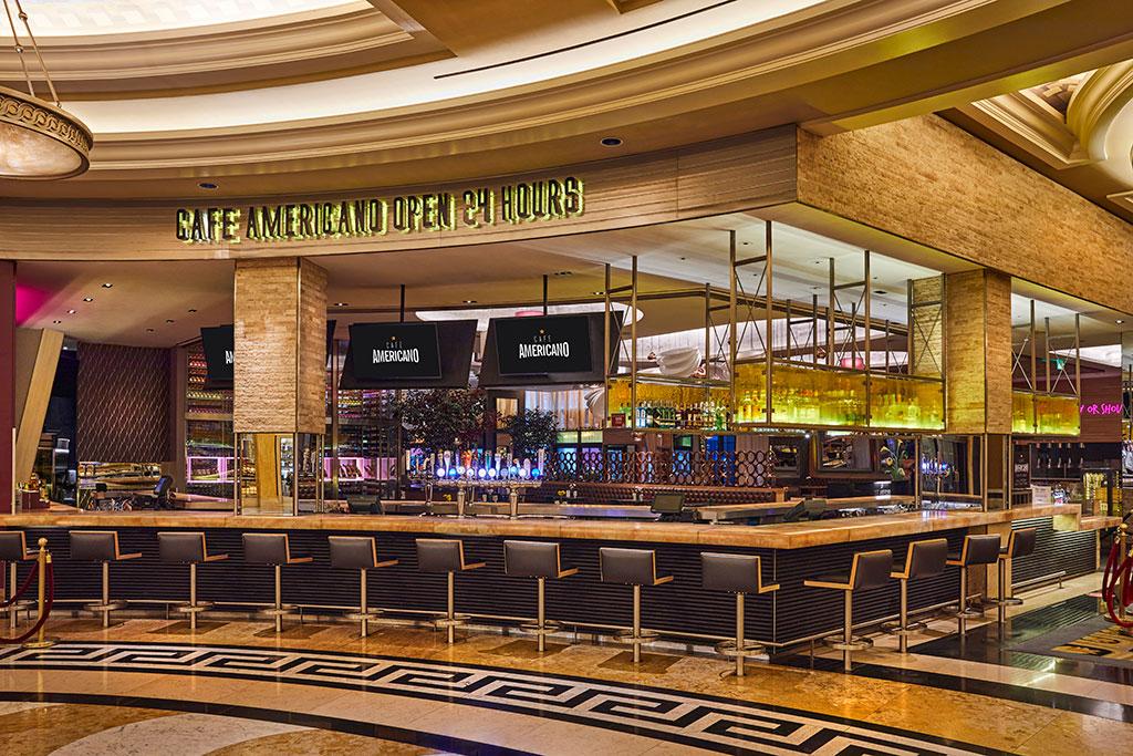 Cafe Americano - Caesar Palace