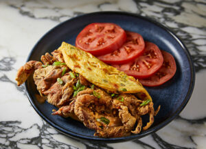 Soft Shell Crab Omelet
