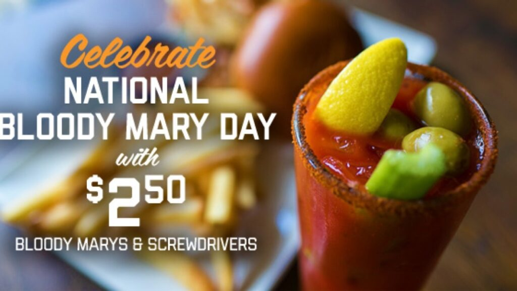 Where to celebrate National Bloody Mary Day | 2019