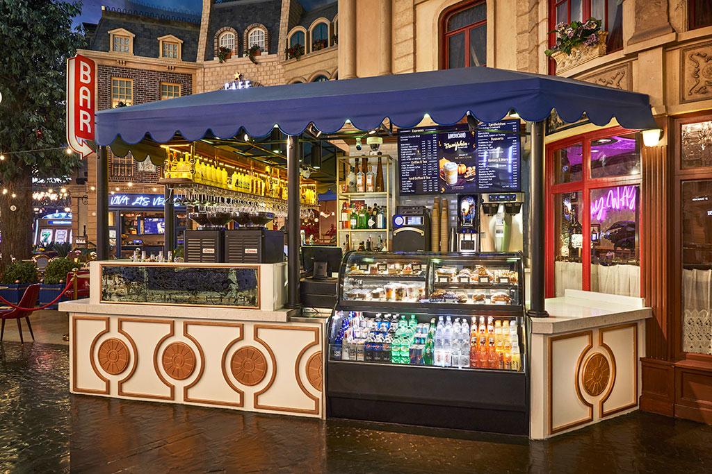 Cafe Americano - Paris Hotel
