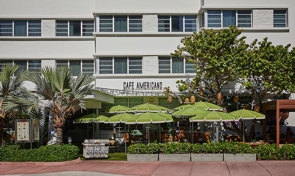 Cafe Americano - Collins Ave
