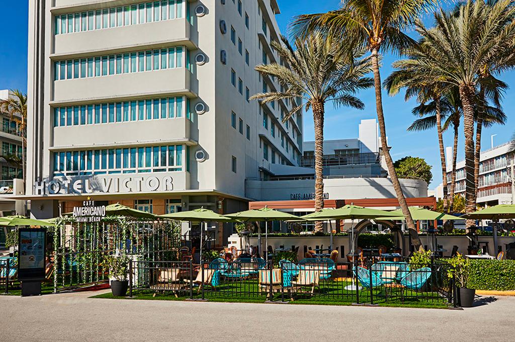 Cafe Americano - Ocean Drive